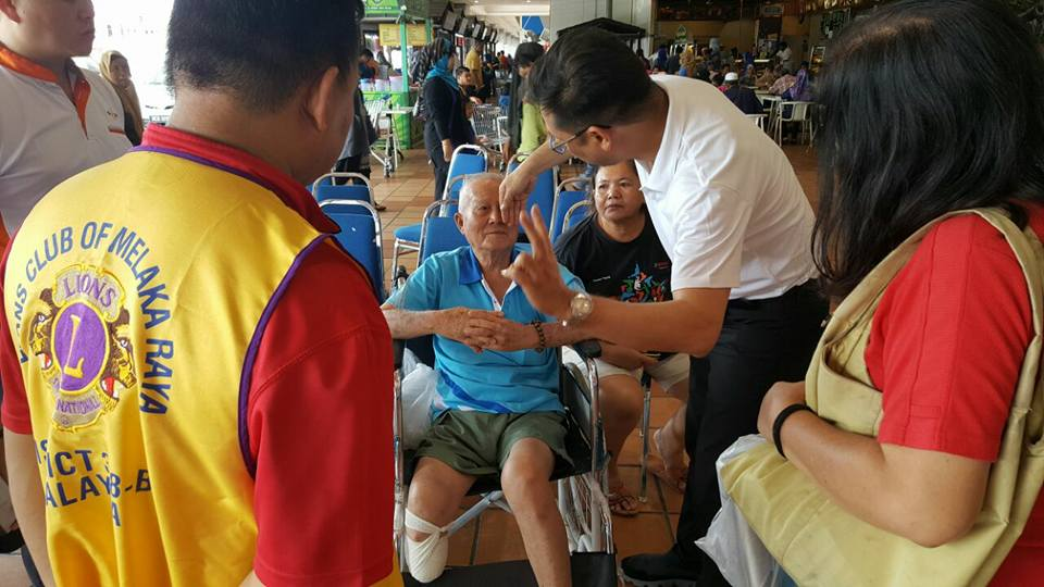 CSR with Lions Club Oct 2016